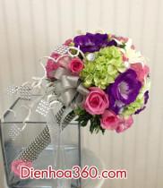 Cách cắm hoa đẹp, dạy cắm hoa, điện hoa