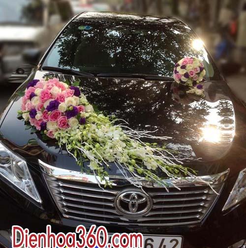 Mẫu xe hoa đẹp tại Hà Nội