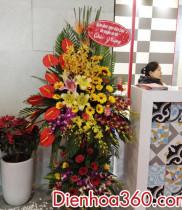 Dien hoa, điện hoa chúc mừng, hoa Khai trương văn phòng mới NISHIO RENT ALL VIETNAM COT,. LTD