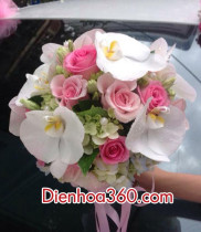 Hoa cưới, Cách bó hoa cưới