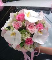 hoa co dau dep, mau hoa cam tay co dau sang trong
