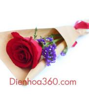 Hoa sinh nhật, hoa tình yêu, Cách tặng hoa người yêu