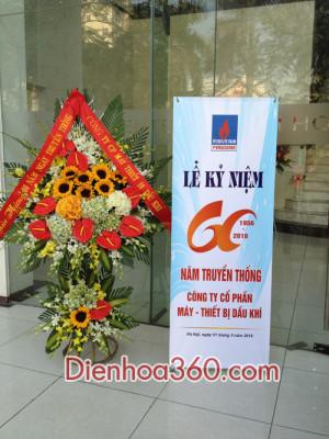 hoa khai truong, send flower to vietnam
