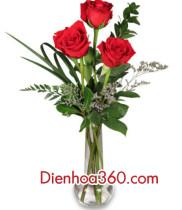Mẫu hoa tặng sinh nhật, hoa tặng người yêu