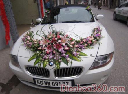 Hoa cuoi, hoa cuoi dep, xe hoa vip