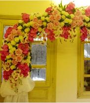 Cổng hoa cưới 08