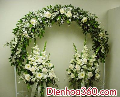 Trang tri cong hoa cuoi 001