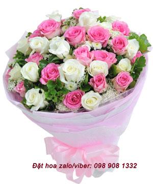 Điện hoa online – hoa đẹp tặng người yêu