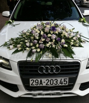 mau xe hoa dep, hoa cuoi