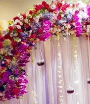 Trang tri cong hoa cuoi đẹp