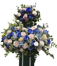 Hoa hồng xanh – hoa sinh nhật tháng 10
