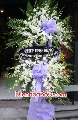 Hoa chia buon, đặt hoa chia buồn, dienhoa360