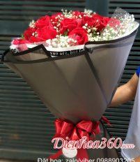 Ý nghĩa tặng 33 bông hoa hồng đỏ