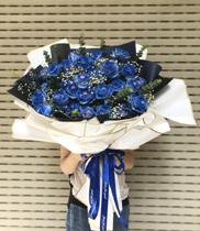 Hoa hồng xanh tình yêu vĩnh cửu