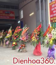 Hoa chúc mừng khai trương Gara ôtô 123