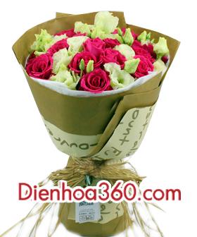 mau hoa sinh nhat re dep, hoa sinh nhat, hoa tuoi