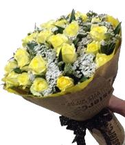 Điện hoa Huế-hoa hồng vàng