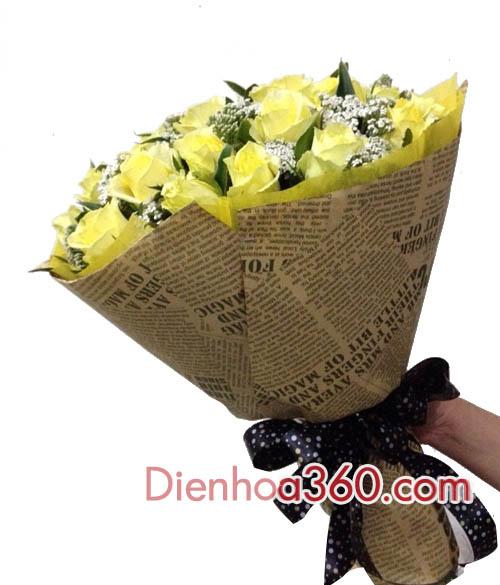 Bó hoa tặng sinh nhật bạn