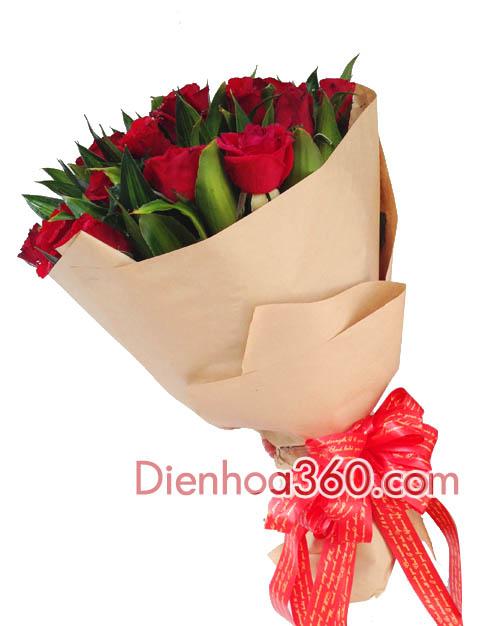 hoa sinh nhat nguoi yeu, mau hoa bo dep, hoa gia re