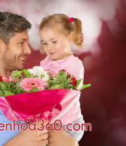 Mẫu hoa tặng ngày của cha