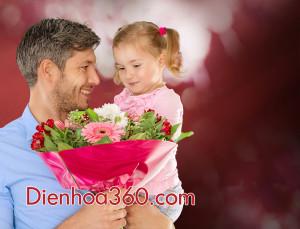 hoa tang bo, flower for dady