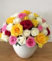 Quà tặng sinh nhật, bình hoa tươi