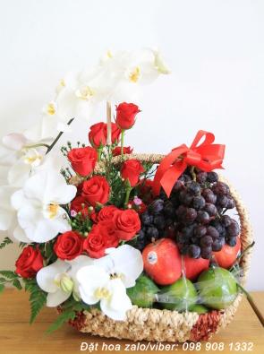 Địa chỉ đặt mua giỏ hoa quả đẹp
