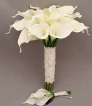 Hoa cưới-bó hoa cưới bằng hoa rum