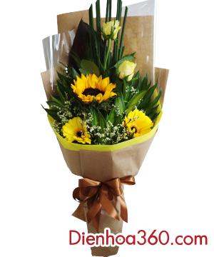 Bó hoa tặng đại biểu-mẫu hoa tặng đại biểu