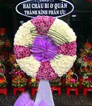 kệ hoa chia buồn đẹp-hoa cúc