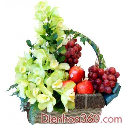 Giỏ trái cây – Giỏ hoa quả