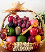 Giỏ trái cây giá rẻ nhất Hà Nội – điện hoa
