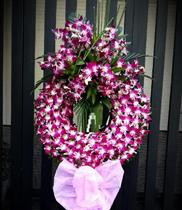 Hoa chia buồn màu tím – giá rẻ