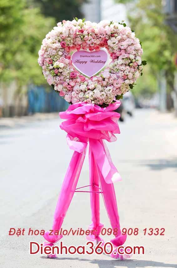 Hoa chúc mừng đám cưới-lãng hoa chúc mừng đám cưới