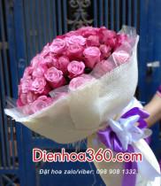 Có nên chọn hoa hồng tím làm quà tặng sinh nhật không?