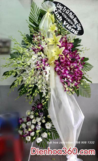Lãng hoa chia buồn đẹp