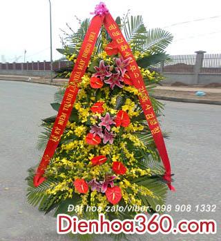 Lãng hoa khai trương kiểu Hàn Quốc-điện hoa
