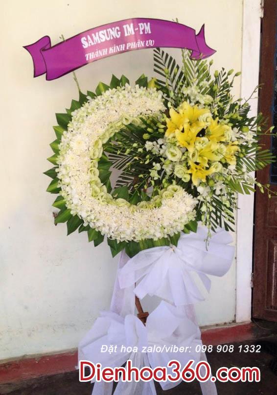 Đặt hoa chia buồn giá rẻ