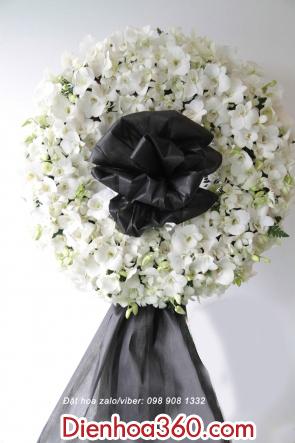 Vòng hoa chia buồn – điện hoa giá rẻ