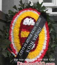 Vòng hoa chia buồn và những lời tiễn biệt trong đám tang hay và ý nghĩa.