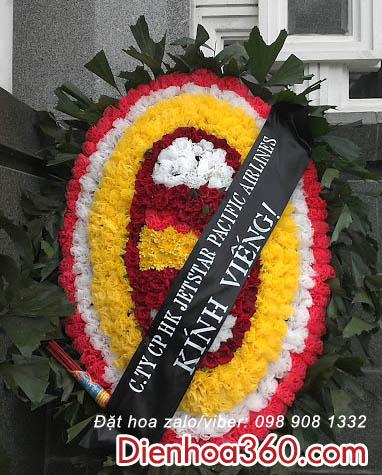 Đặt vòng hoa chia buồn nhà tang lễ cầu giấy Hà Nội