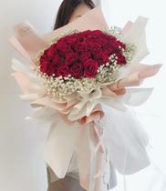 Bó hoa lãng mạn kiêu sa