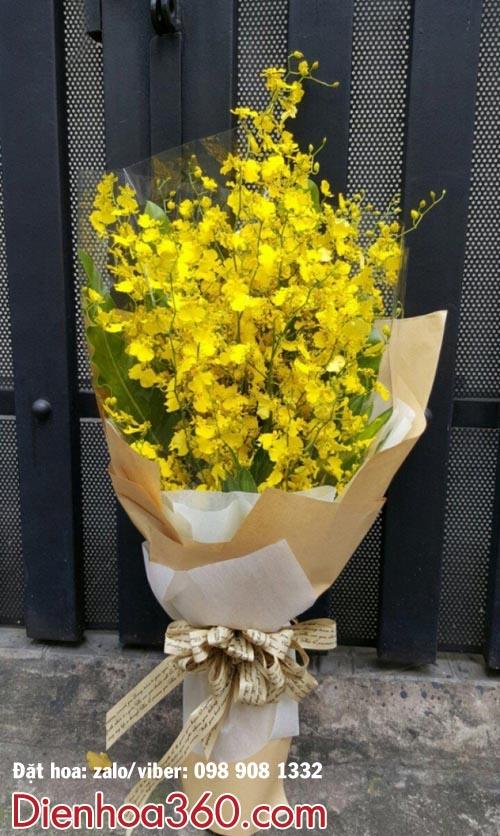 Đặt điện hoa sinh nhật-hoa vũ nữ-bó hoa vũ nữ