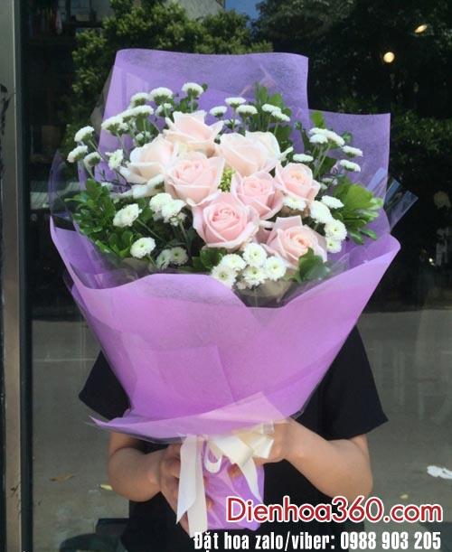 Tặng hoa sinh nhật-hoa tươi