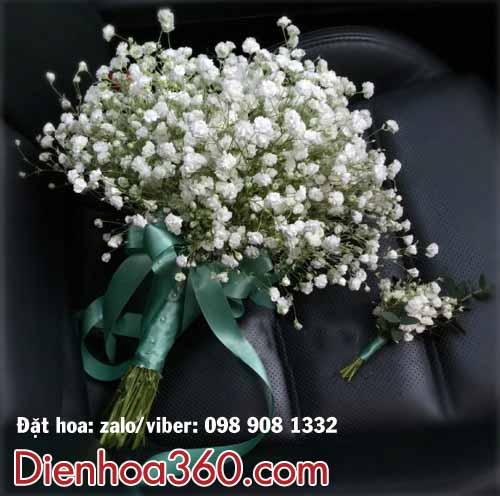 Hoa cưới baby-hoa cầm tay cô dâu baby