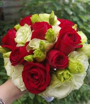 Hoa cưới – hoa hồng đỏ
