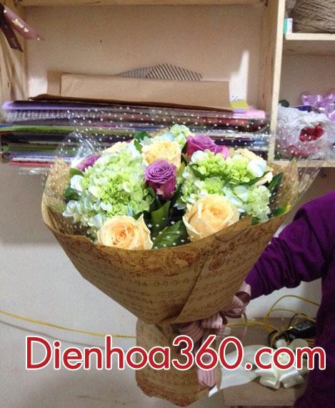 Hoa tặng ngày nhà giáo Việt Nam 20-11- Mẫu hoa tươi chúc mừng ngày nhà giáo 20-11
