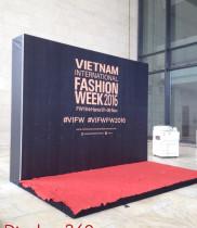 Hoa sự kiện cùng Fashion week 2016