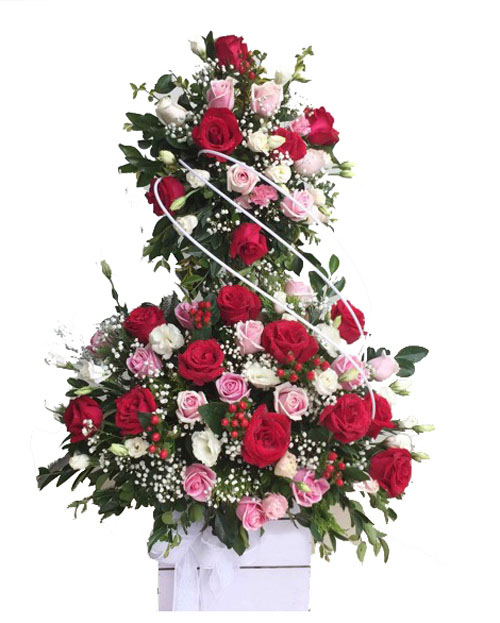 Lãng hoa tươi đẹp tặng sinh nhật