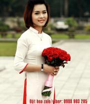 Hơn 100 mẫu hoa bó và giỏ hoa đẹp tặng thầy cô nhân ngày 20/11